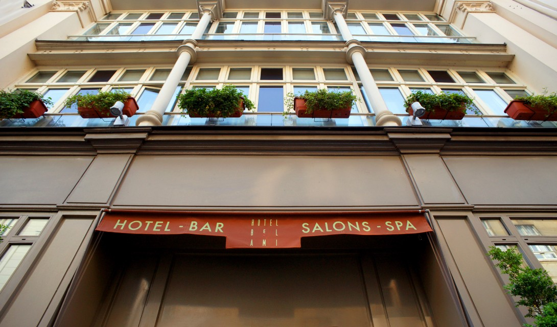 Hotel bel ami paris france design hotels for Hotel design france