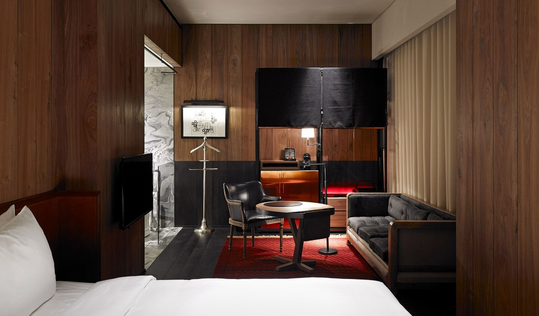 Architecture Design at Hotel Proverbs Taipei in Taiwan Design