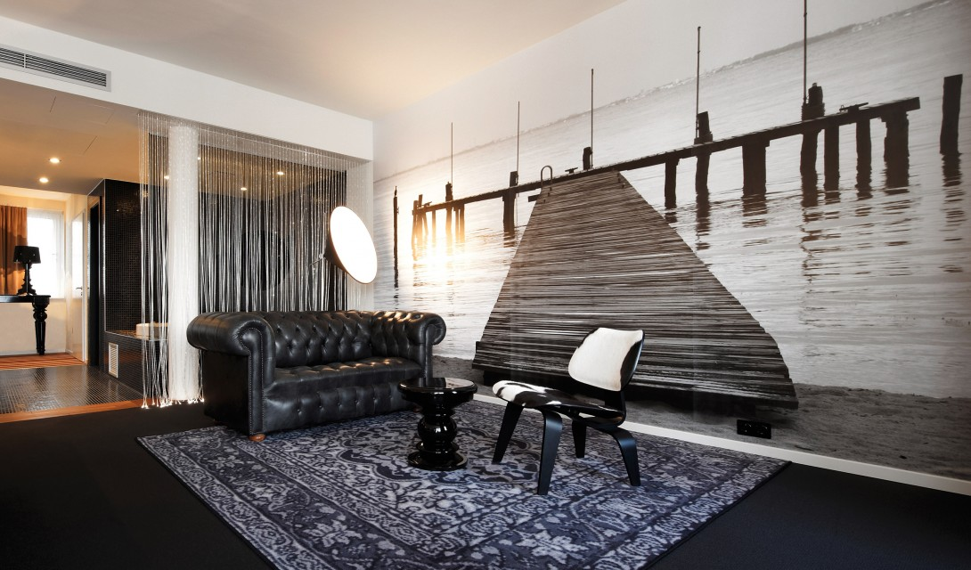hotel berfluss bremen germany design hotels. Black Bedroom Furniture Sets. Home Design Ideas