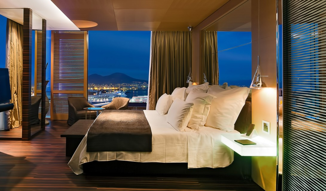 Italy boutique luxury hotels design hotels for Hotel design naples