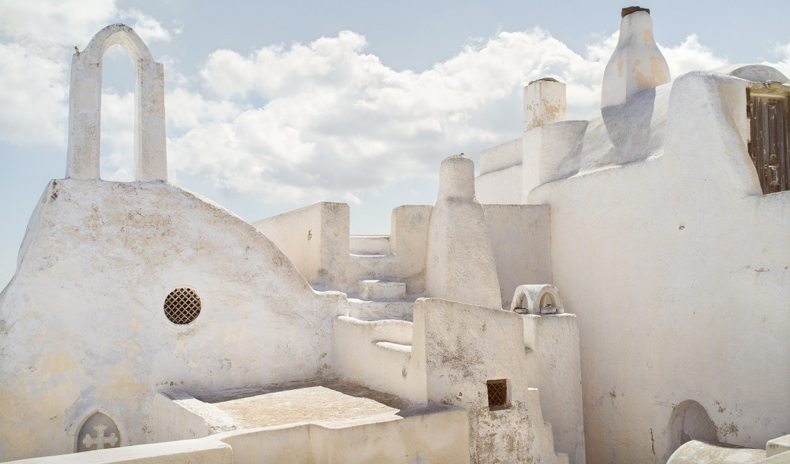 Istoria Architecture in Santorini