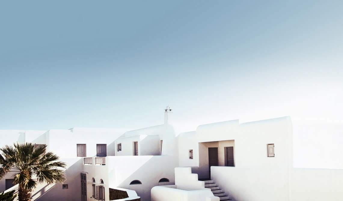 Architecture design at san giorgio mykonos in greece for Top design hotels mykonos