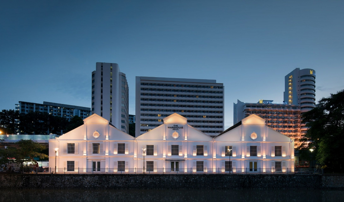 The Warehouse Hotel Architecture in Singapore