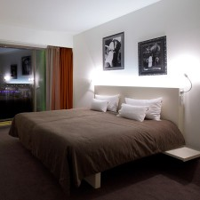 Bedroom design Design hotel lanchid19 budapest