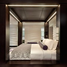 Hotel Mira Hong Kong Interior Design Bedroom