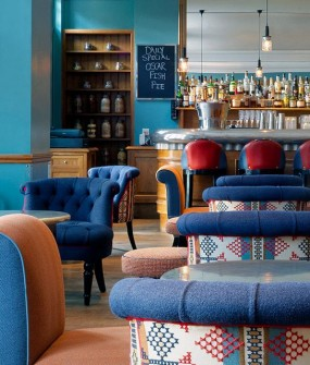 Charlotte Street Hotel Restaurant Interior Design in London