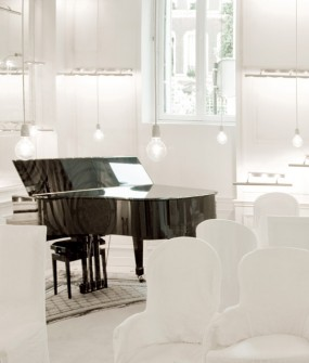 Interior Design Piano Room La Maison Champs Elysees