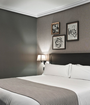 The principal madrid spain design hotels for Principal room design