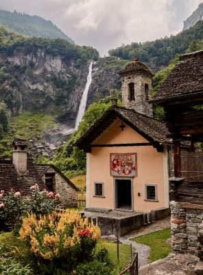 Giardino Ascona Church in Switzerland