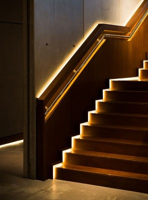Nobu Hotel Shoreditch Stairs in London