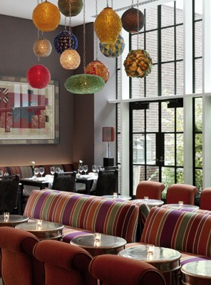 dining design lamps dorset square hotel london
