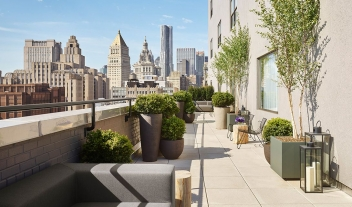 11 Howard Architecture Rooftop Terrace City View M 01