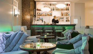 Hotel Bel Ami Bar in Paris