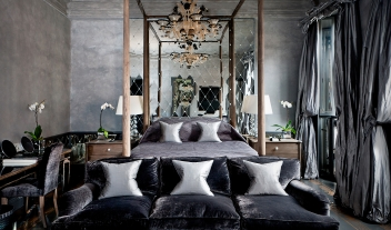 Blakes Hotel Suite Bedroom Interior Design M 16 R