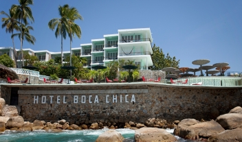 Boca Chica Architecture Building Terrace View M 18 R