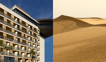 Bohemia Suites And Spa Architecture Facade Desert View M 12