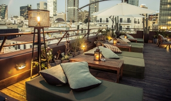 Brown Tlv Rooftop Lounge M 23 R
