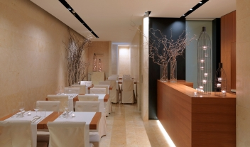 C Hotel and Spa Restaurant in Cassago Brianza
