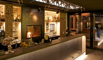 Cervo Mountain Boutique Resort Bar Interior in Zermatt