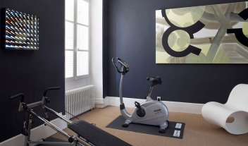 Chateau de la Resle Fitness in Burgundy