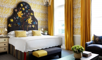Covent Garden Hotel Bedroom Interior Design M 07 R
