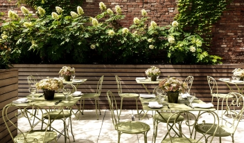 Crosby Street Hotel Terrace in New York City