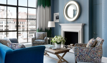 Crosby Street Hotel Living Room in New York City