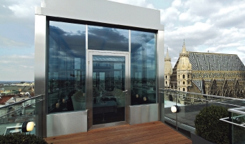 Do And Co Hotel Vienna Rooftop Meeting Room Private Dining Dome View M 07