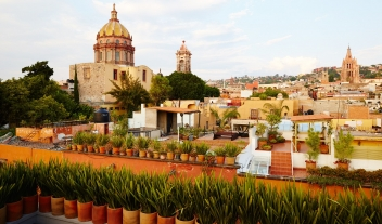 Dos Casas Hotel Views in San Miguel de Allende