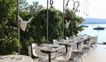 Ekies All Senses Resort Restaurant Dining Tables Sea View M 23 R