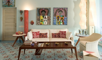El Otro Lado Living Room Interior Design Art Details M 11 R