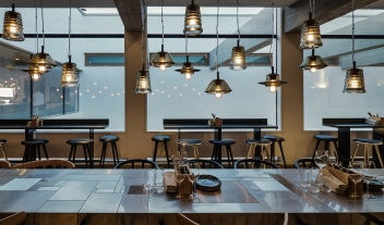 Elma Arts Restaurant Bar Interior Design Lights M 03 R