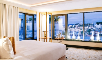 Five Seas Hotel Cannes Suite City View Sundown M 10