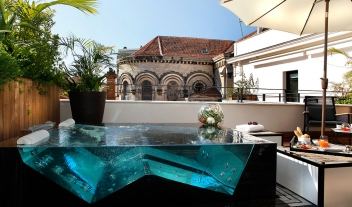 Five Seas Hotel Cannes Terrace Whirlpool M 12