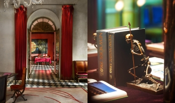 Gramercy Park Hotel Books in New York