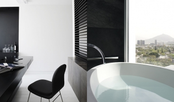 Habita Monterrey Furniture Details Bathtub City View M 10
