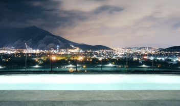 Habita Monterrey Pool City View By Night M 13