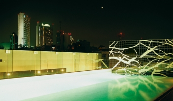 Habita Pool Area Bar By Night M 05 R
