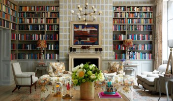 Ham Yard Hotel Library in London