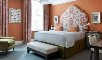 Haymarket Hotel Bedroom in London