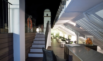Hospes Las Casas Del Rey De Baeza Pool Rooftop Night View M 16