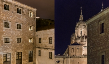 Hospes Palacio De San Esteban Architecture Church View By Night M 05 R
