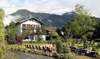 Hotel Bachmair Weissach Mountain View in Rottach-Egern