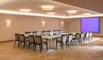 Hotel Bachmair Weissach Meeting Room in Rottach-Egern