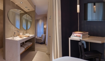 Hotel De Nell Interior Design Bathroom Guestroom M 08 R