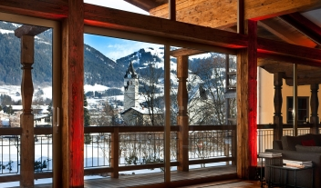 Hotel Kitzhof Mountain Design Resort Spa City Church View By Winter M 20 R