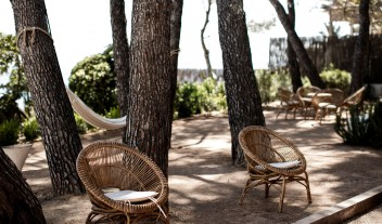 Hotel Les Roches Rouges Garden in Saint Raphael