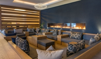 Hotel Nevai Fireplace in Verbier