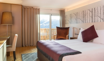 Hotel Nevai Bed in Verbier