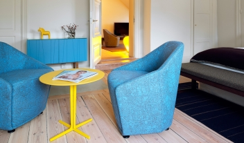 Hotel Skeppsholmen Room Interior Design Blue Chairs M 03 R